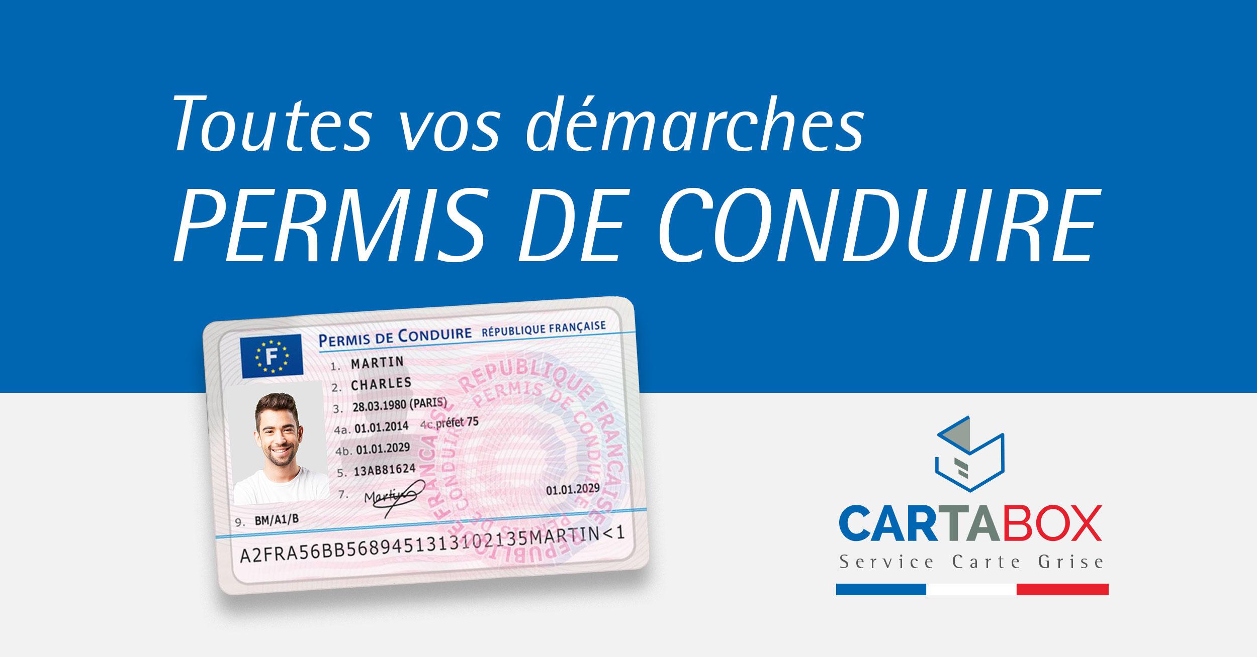 service permis de conduire préfecture